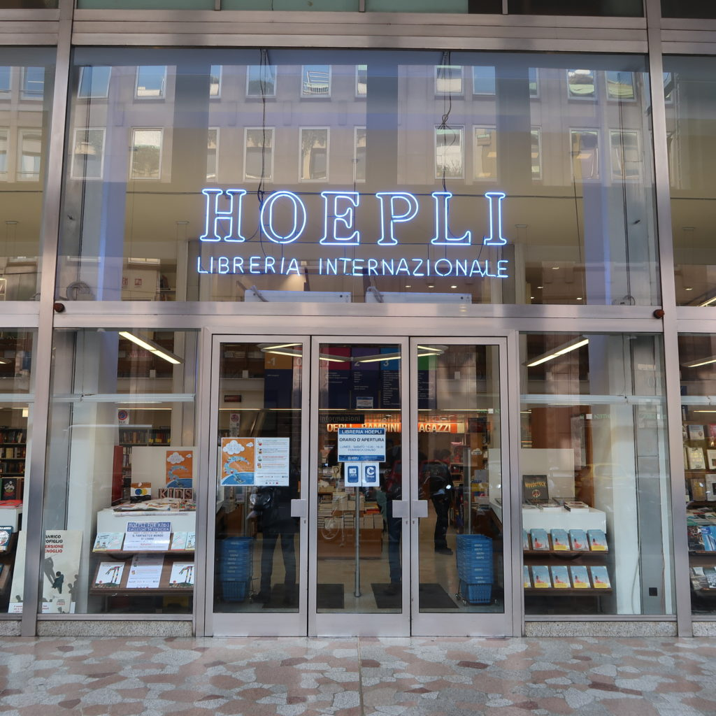 Librairie internationale Hoepli de Milan