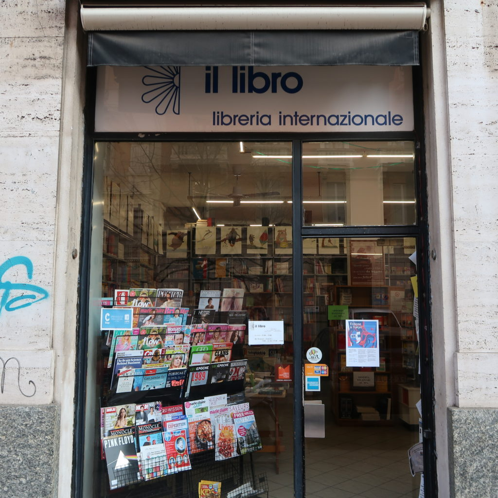 Librairie internationale Il Libro de Milan