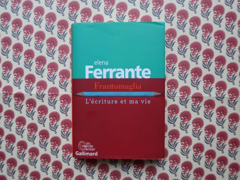 Livre Frantumaglia Elena Ferrante