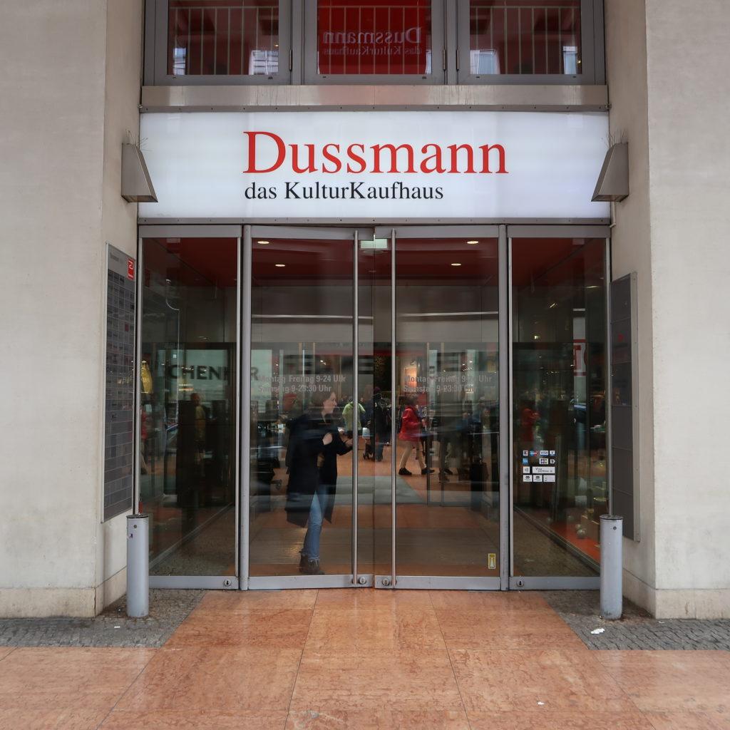 Librairie Dussmann de Berlin