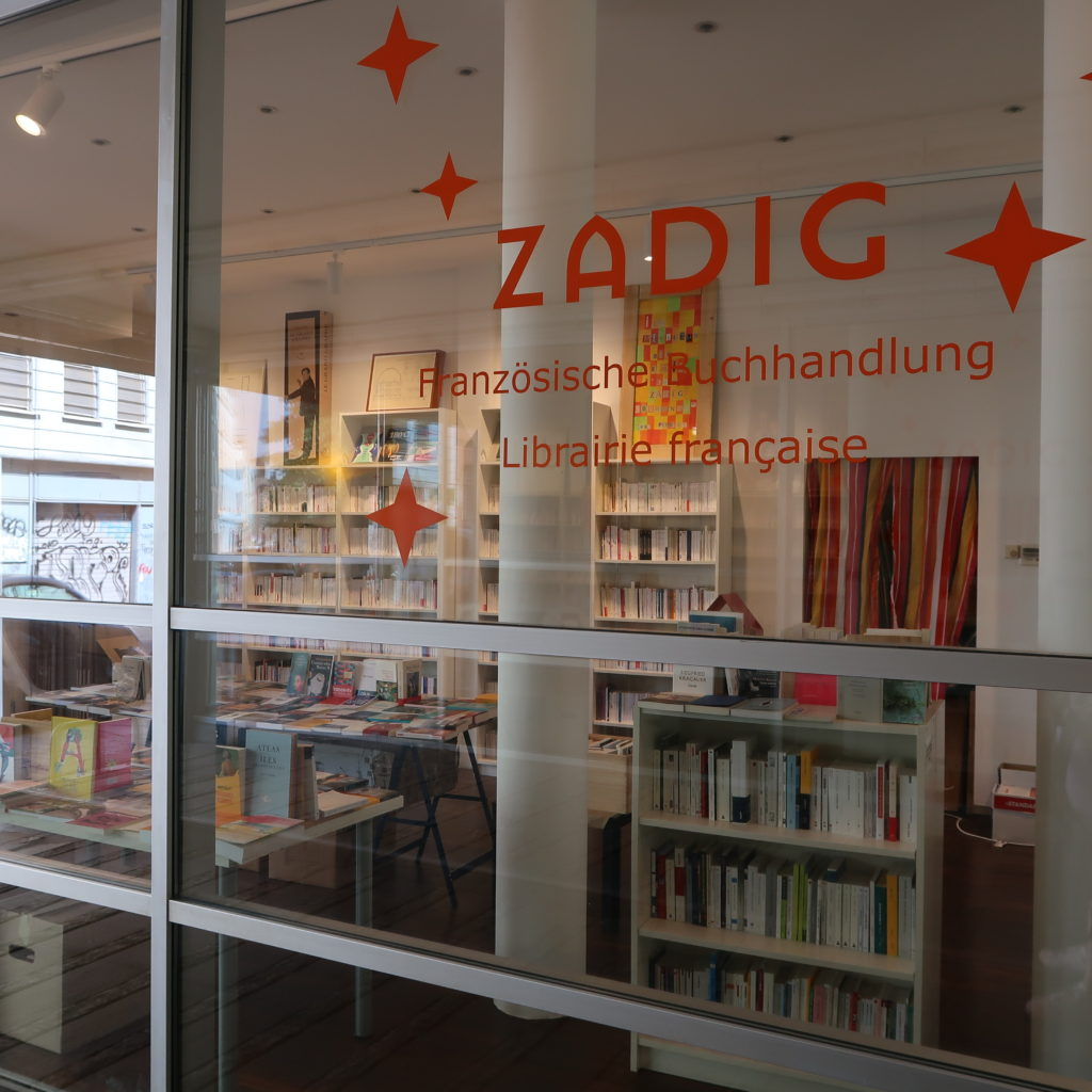 Librairie française Zadig de Berlin