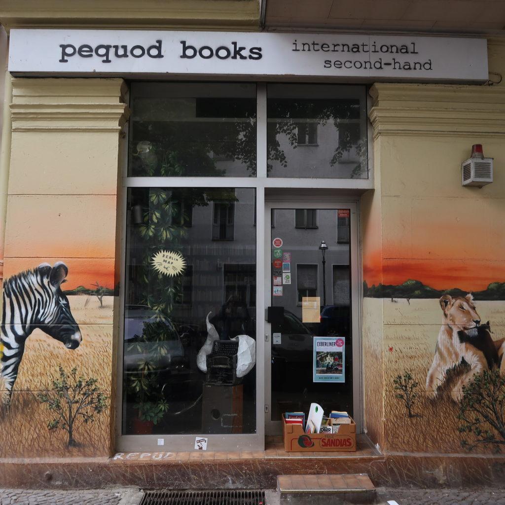 Librairie d'occasion Pequod Books