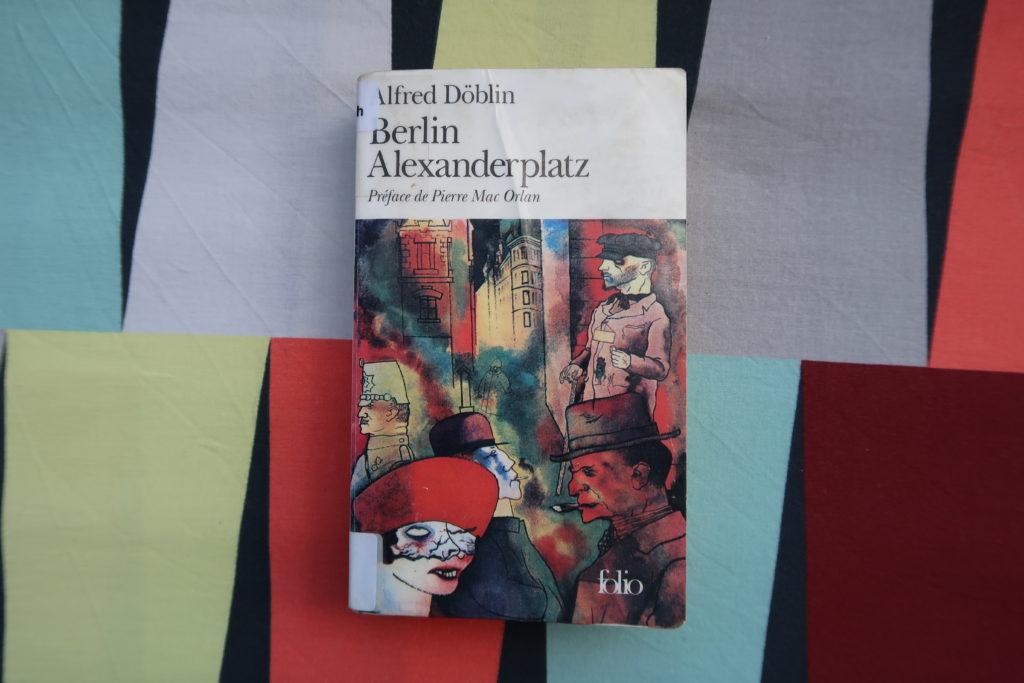 Livre Berlin Alexanderplatz d'Alfred Döblin
