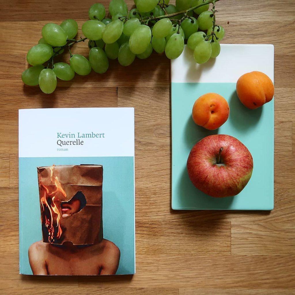 Livre Querelle Kevin Lambert