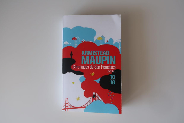 Livre Chroniques de San Francisco d'Armistead Maupin