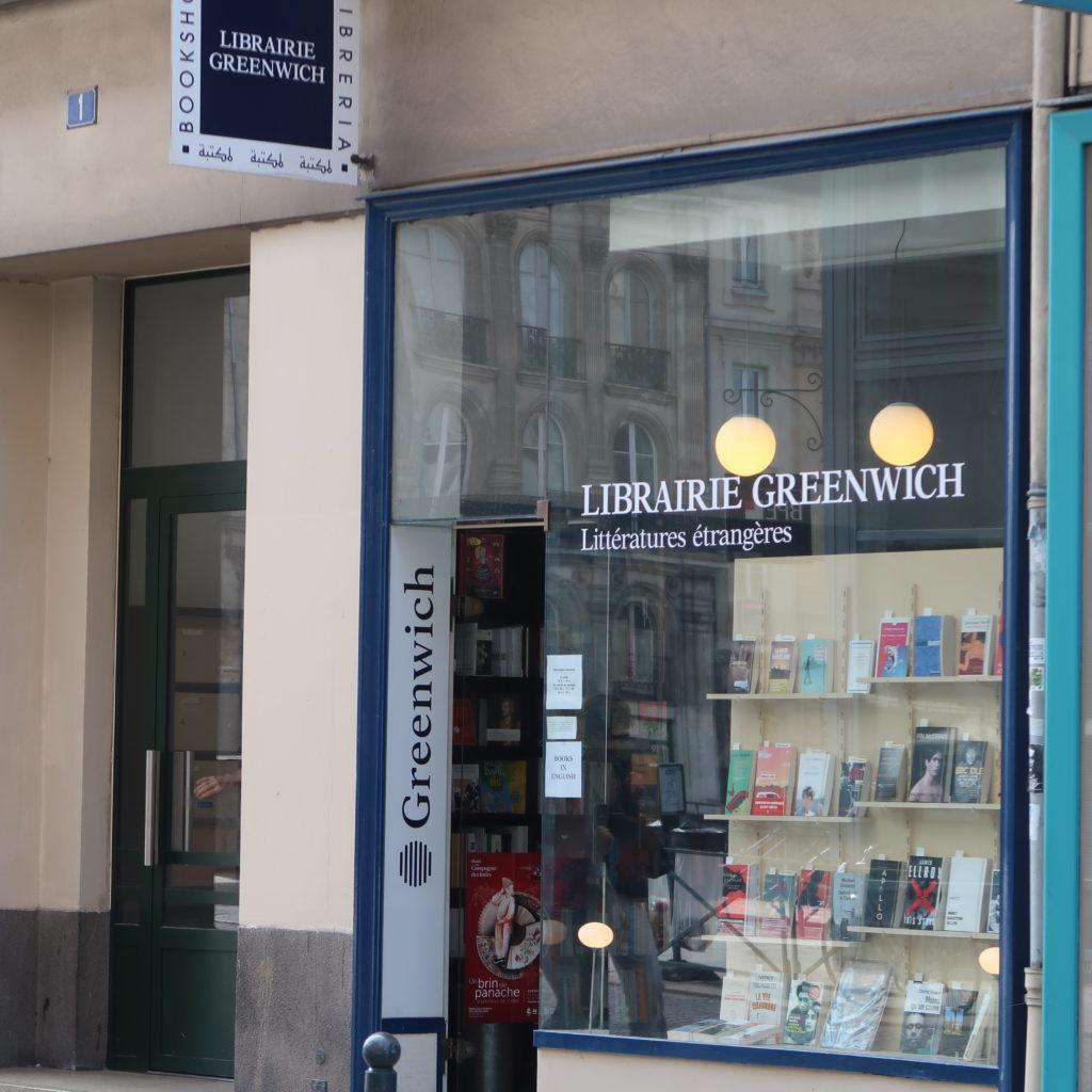 Librairie Greenwich de Rennes