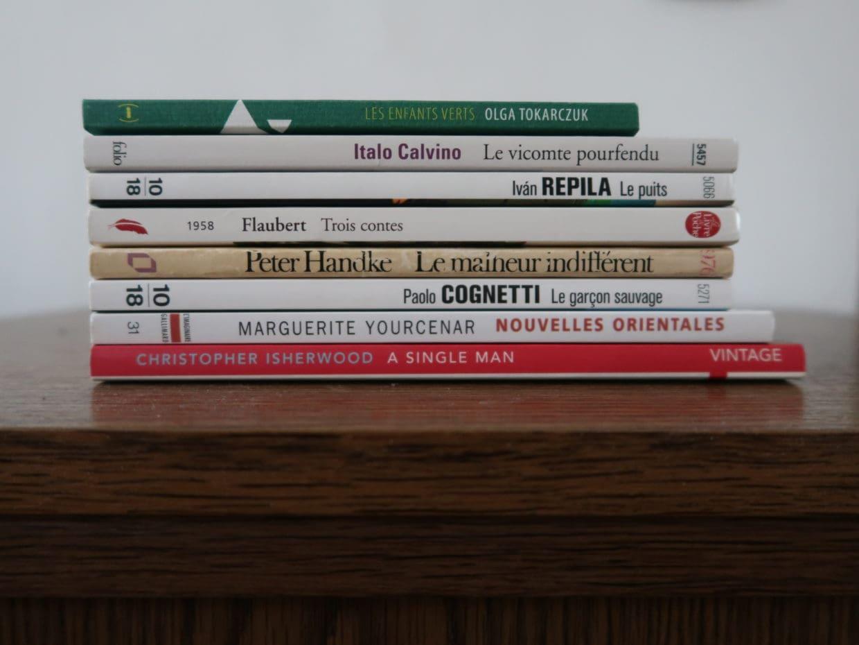 Sélection de mes livres courts préférés