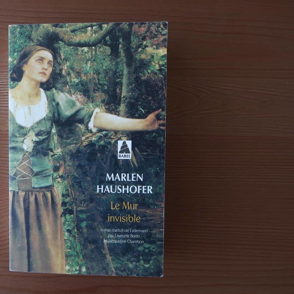 Livre Le mur invisible de Marlen Haushofer