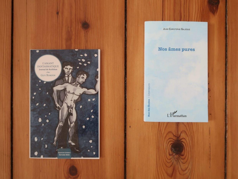 Lire des livres envoyés par les auteurs