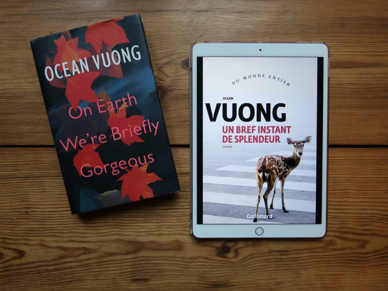 Un bref instant de splendeur, Ocean Vuong